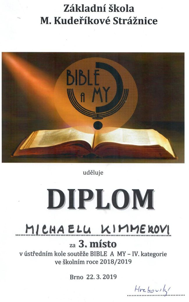 Bible a my Kimmer 032019